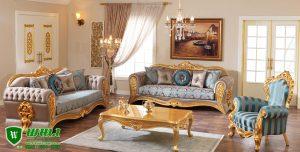 Kursi Tamu Sofa Mewah Riva Ukir Jepara Klasik Eropa