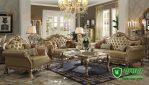 Sofa Tamu Mewah Klasik Terbaru Ukir Mebel Jepara