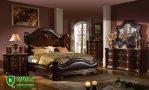 Tempat Tidur Set Jati Terbaru Mewah Elegan Model Klasik Eropa