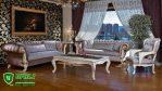Sofa Tamu Mewah Elegan Model Eropa Terbaru 2017