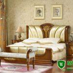 Tempat Tidur Jati Minimalis Modern Jepara Warna Natural Terbaru