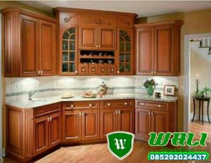 KITCHEN SET MEWAH MINIMALIS ANTIK 1