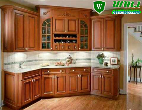 KITCHEN SET MEWAH 1, kitchen set minimalis, kitchen set ukir, kitchen set dapur