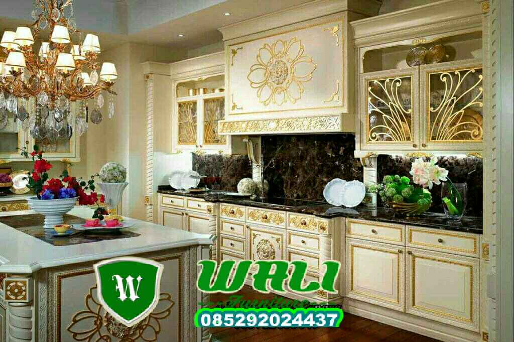 KITCHEN SET MEWAH 2,kitchen set mewah 1,kitchen set minimalis,kitchen set ukir,kitchen dapur