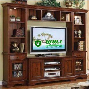 BUFET TV UKIR MEWAH DESAIN LEMARI UKIR MEWAH